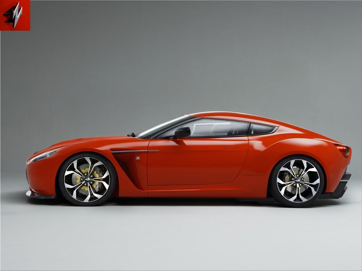 Aston Martin V12 Zagato | Spare Wheel