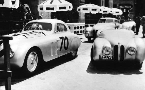 BMW 328 Kamm Coupe - 1940 Mille Miglia