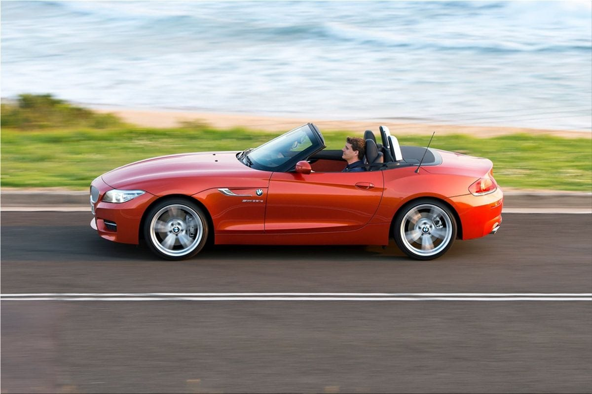 Bmw Z4 Roadster Classical Proportions And State Of The Art
