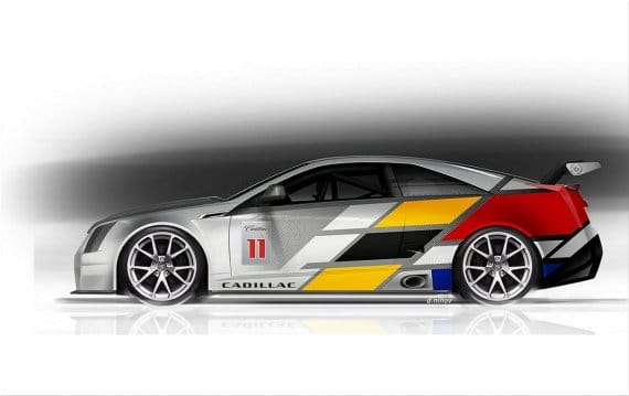 Cadillac CTS V Coupe Race Car 2011