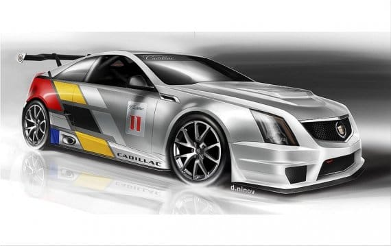 Cadillac CTS V Coupe 2011