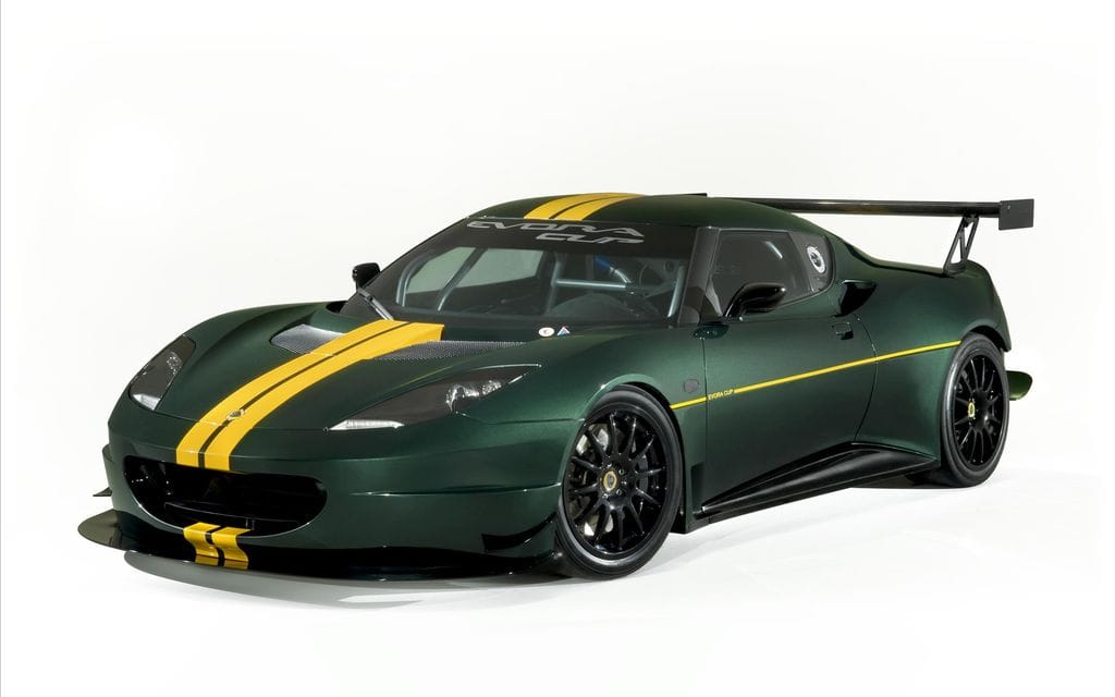 Lotus Evora Cup race car | Spare Wheel