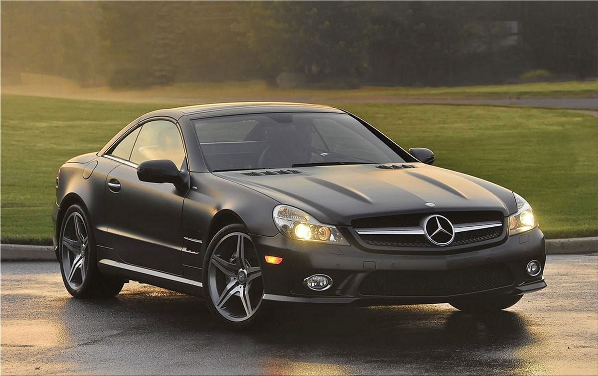 The limited edition mercedes benz sl550 night edition for 2010 mercedes benz sl550