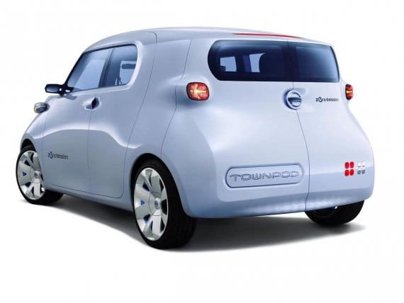 Nissan TownPod electric car