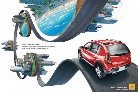 Renault Sandero ad campaign