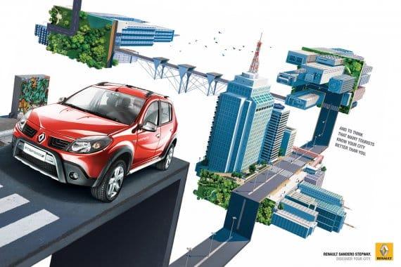 Renault Sandero Car Ads