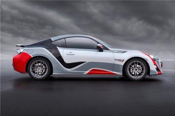 Toyota GT86 CS-V3 Racecar