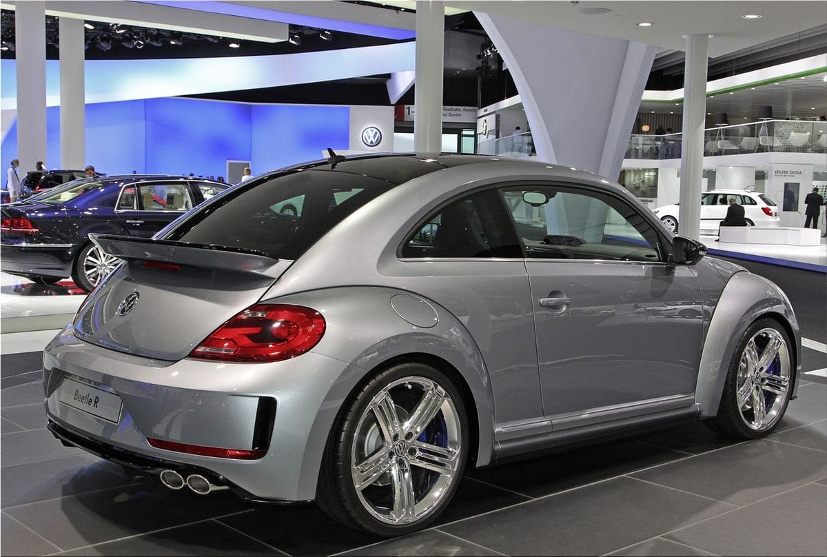The Volkswagen Beetle R Concept is still a design study. Those who are