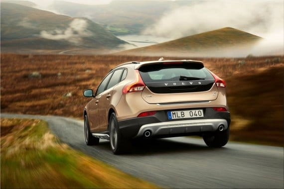 2013 Volvo V40 Cross Country - capable ruggedness and expressive elegance   Spare Wheel
