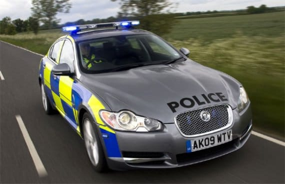 "Geoff Cousins, Jaguar's UK managing director, said: ""Police forces are"