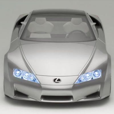 Lexus LF-A GT500