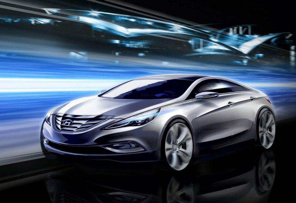 Hyundai Sonata Adopts A New Quot Fluidic Sculpture Quot Spare Wheel