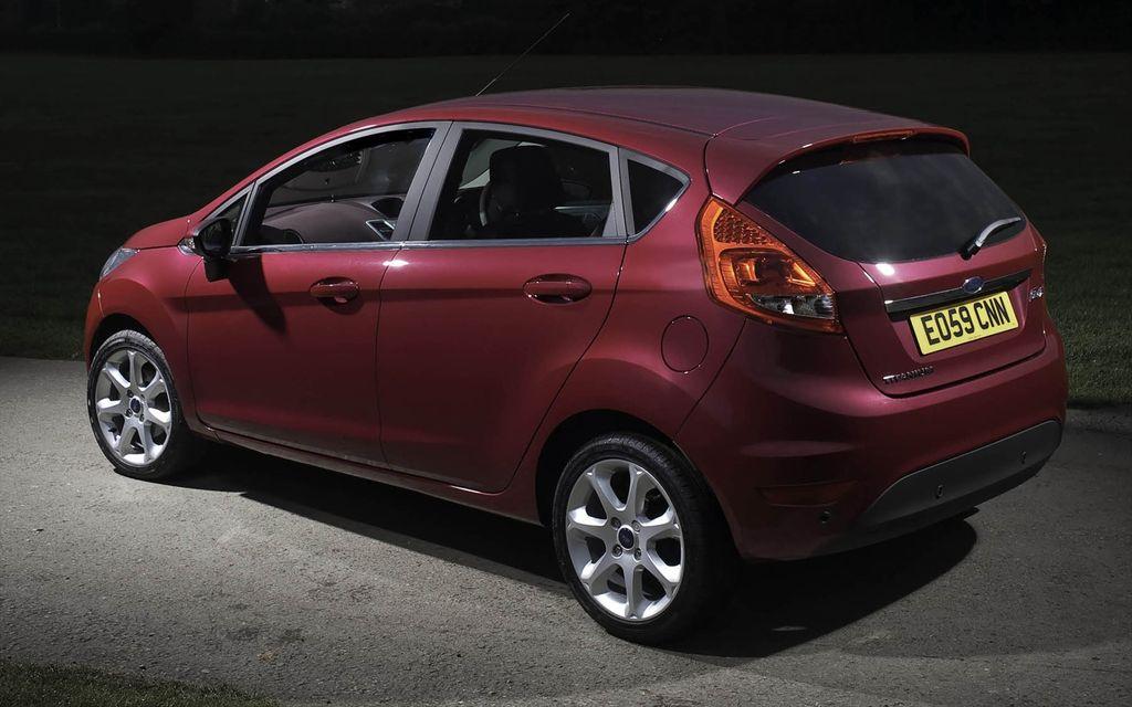 Toyota Company Latest Models >> Ford Fiesta Titanium | Spare Wheel