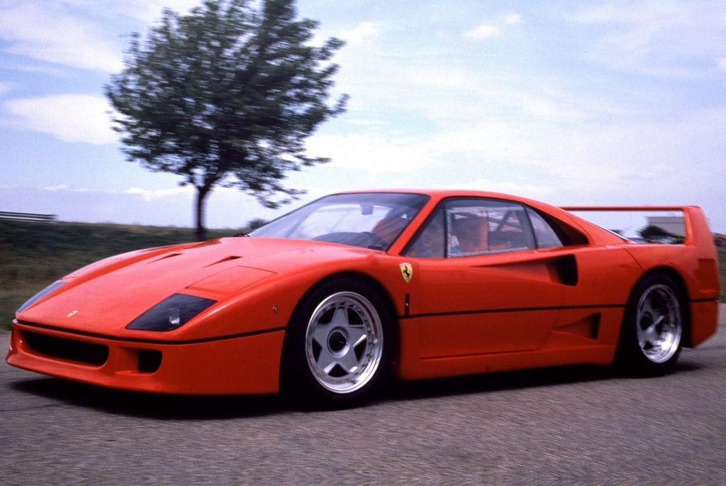 Ferrari F40 World S Fastest Production Car Spare Wheel