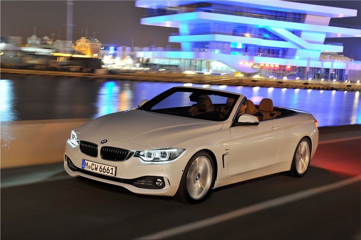 The new 2014 BMW 4 Series Convertible