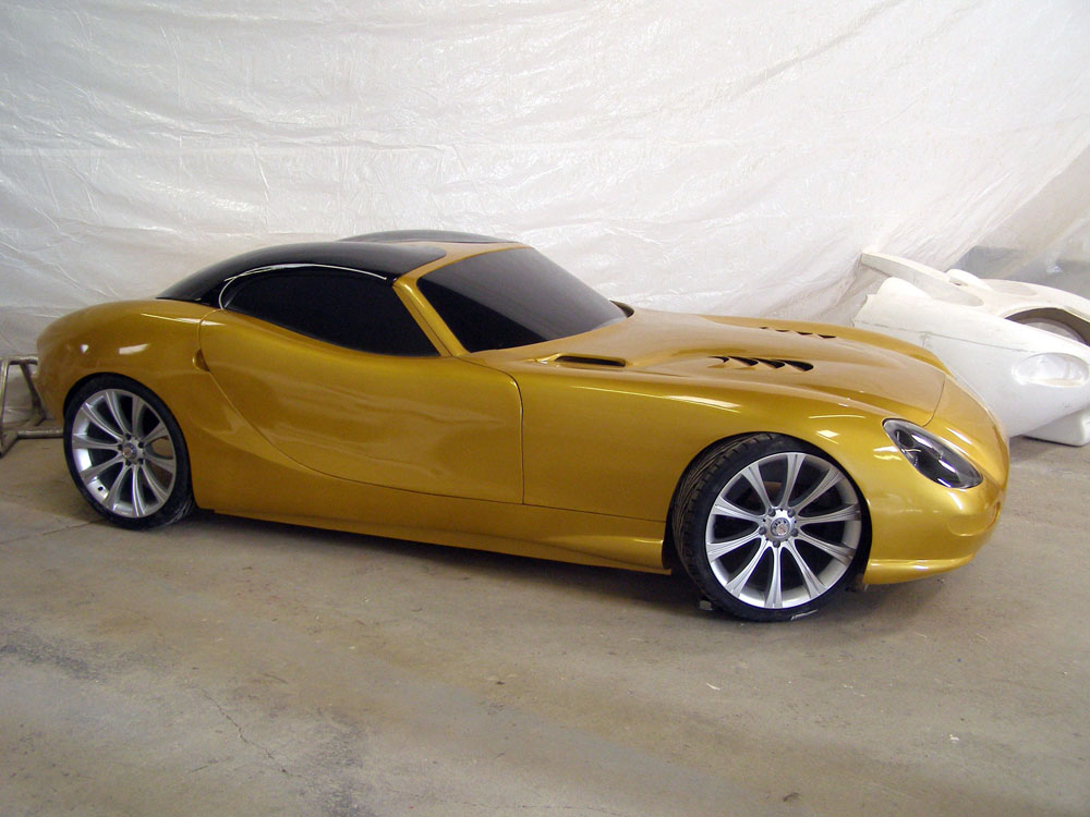 Trident Iceni. Trident Iceni Sports Car