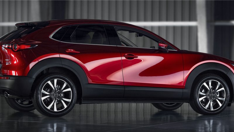 2020 Red Dot design award for Mazda CX-30 and MX-30