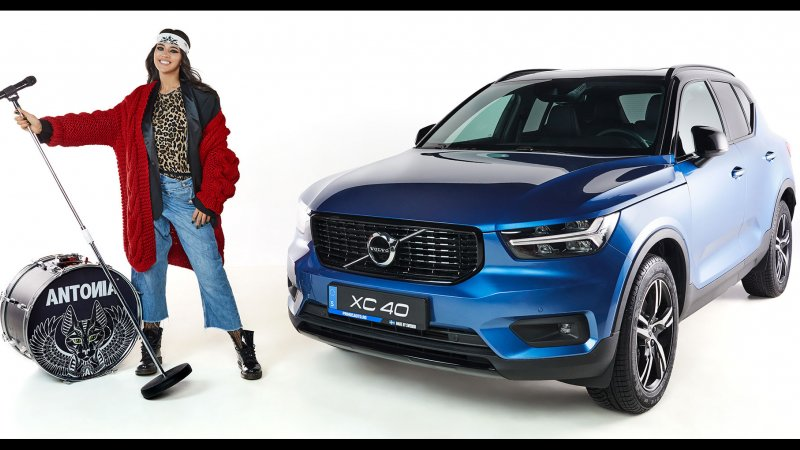 Antonia is Volvo Brand Ambassador