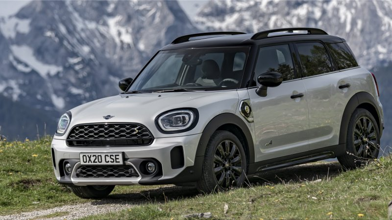 The new Mini Countryman plug-in hybrid has 224 hp and 52 km of autonomy