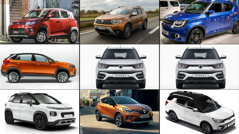 SUVs that cost less than 17,000 euros