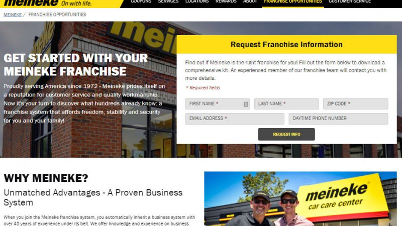 Common Requirements for Getting Your Own Repair Franchise