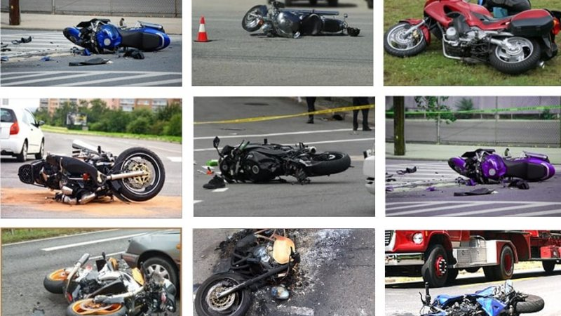 What to do in the event of a motorcycle accident.