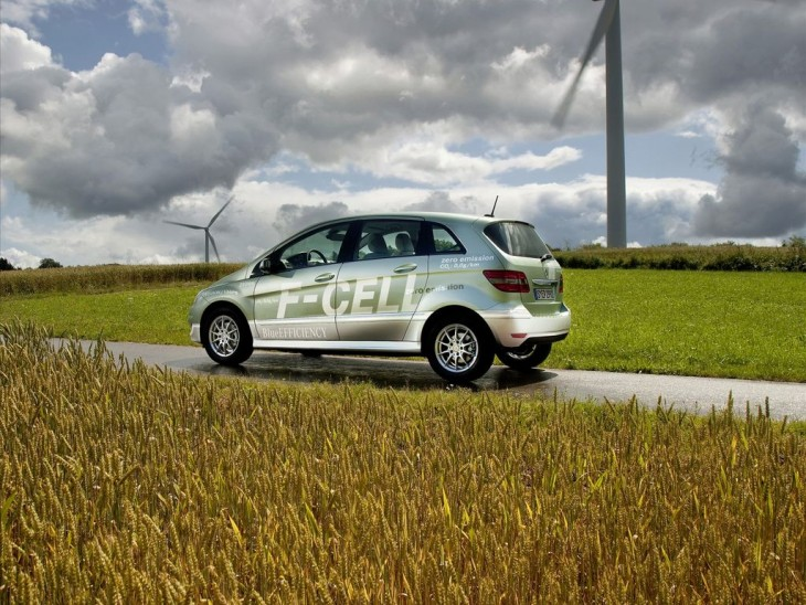 The B Class F-CELL - zero-emission drive system