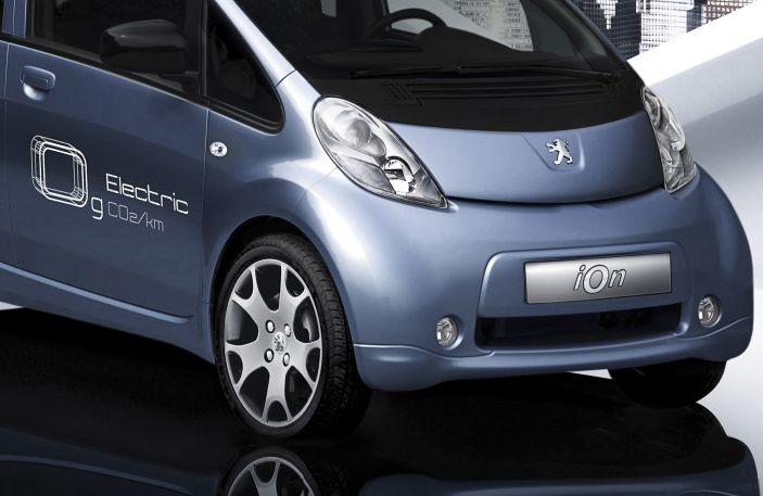 Peugeot electric car