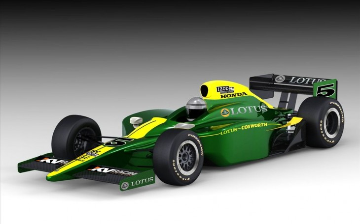 Lotus-Cosworth IndyCar