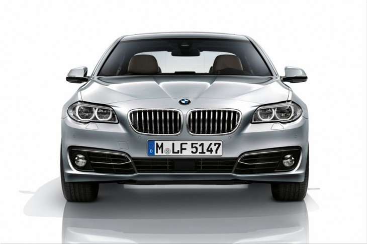 BMW 5-Series facelift