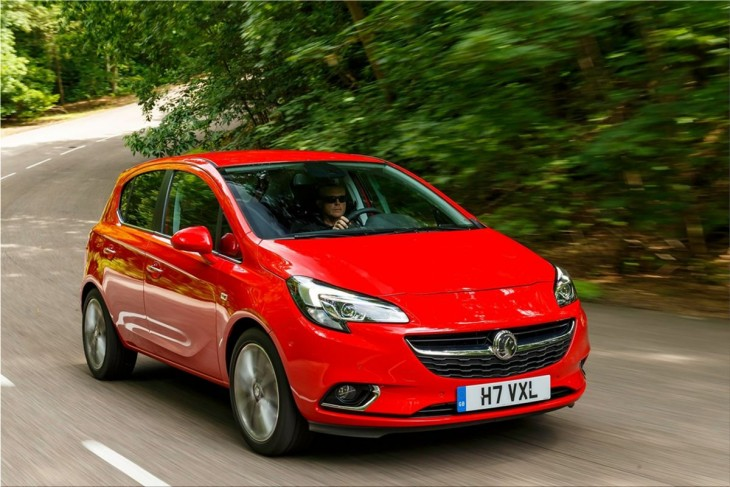 The Fourth-Generation 2015 Opel Corsa