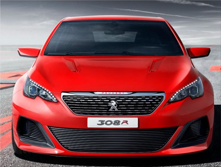 Peugeot compact car in the spotlight