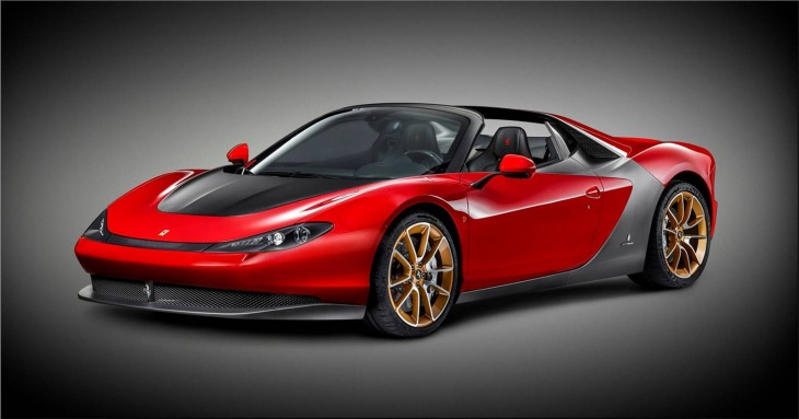 Ferrari Sergio - the first car delivered