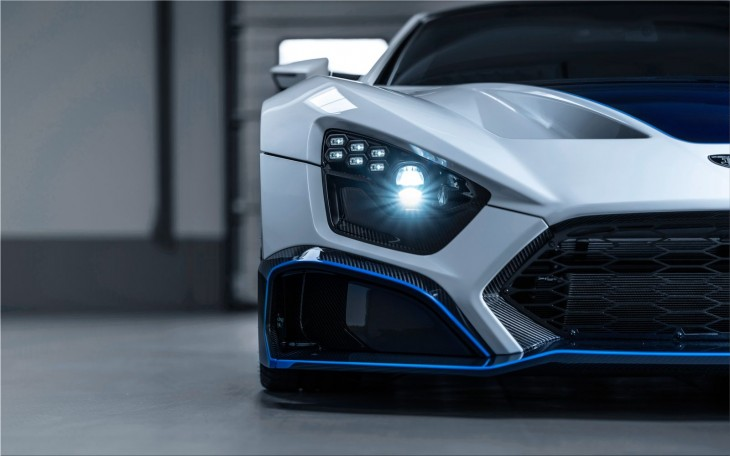 Zenvo TSR-S high-tech sports car