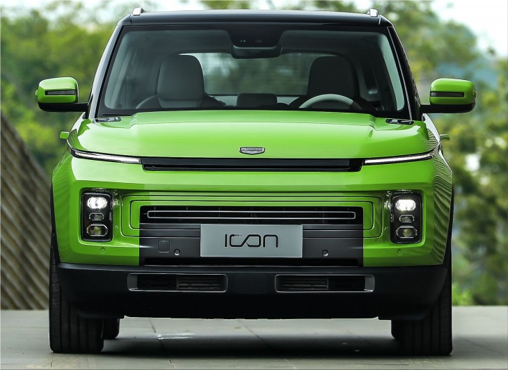 Geely Icon luxury SUV