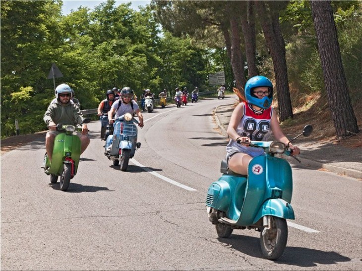 Vespa Club celebrates 70 years of passion