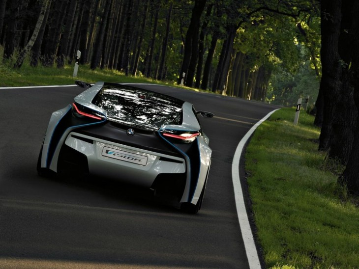 BMW Vision EfficientDynamics concept car