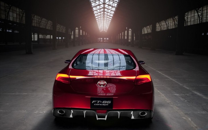 Toyota FT 86 Sports Concept