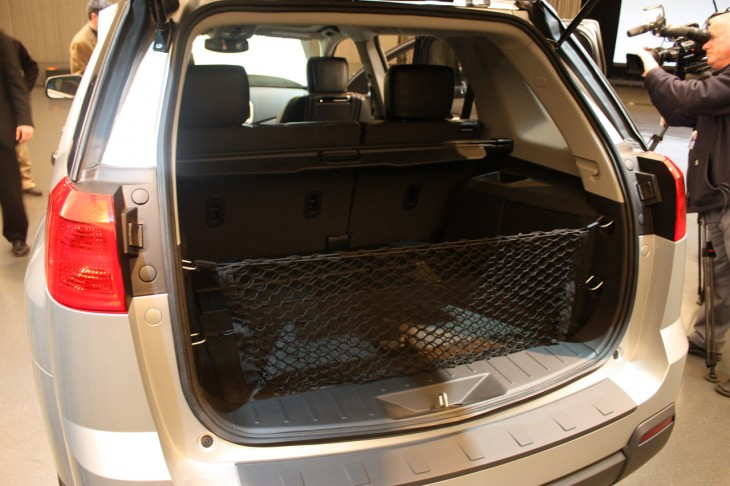 A new technology used on a GMC SUV