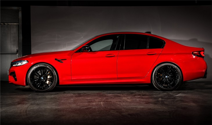 BMW M5 Competition sports car