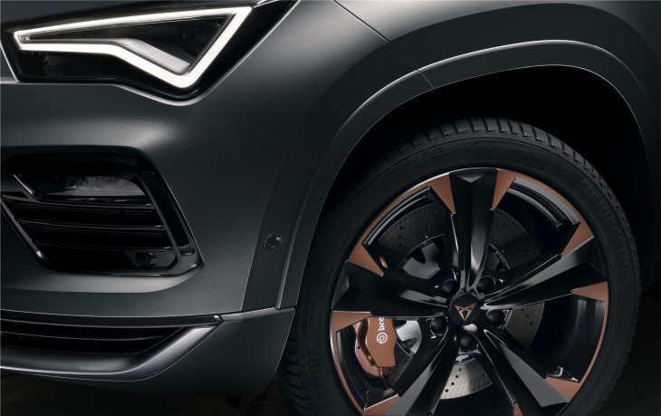Cupra Ateca high-performance SUV