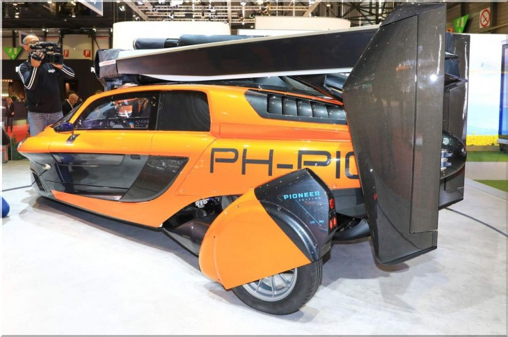 PAL-V Liberty Pioneer Edition - flying car