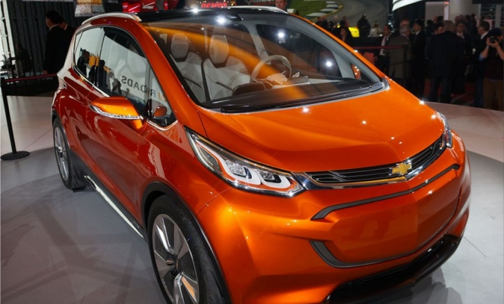 Chevrolet Bolt electric car concept