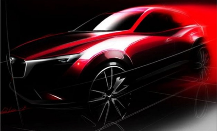 Mazda CX-3 premiere at Los Angeles Auto Show