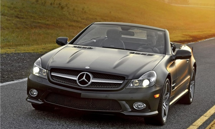 Mercedes-Benz SL550 Night Edition