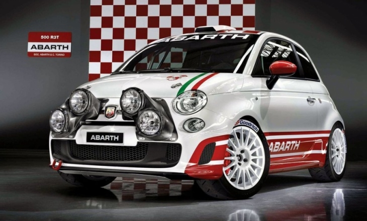 Abarth rally car