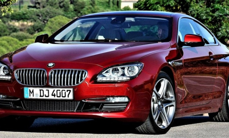 BMW 6-Series Coupe 2012