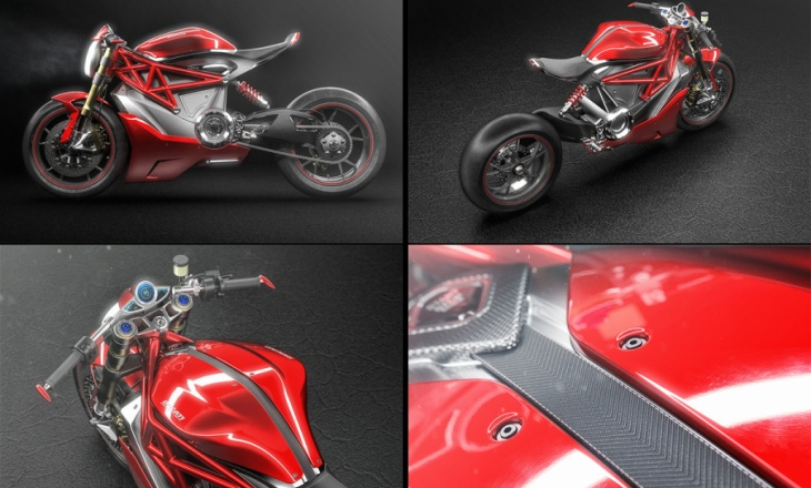 The first electric motorcycle from Ducati is coming