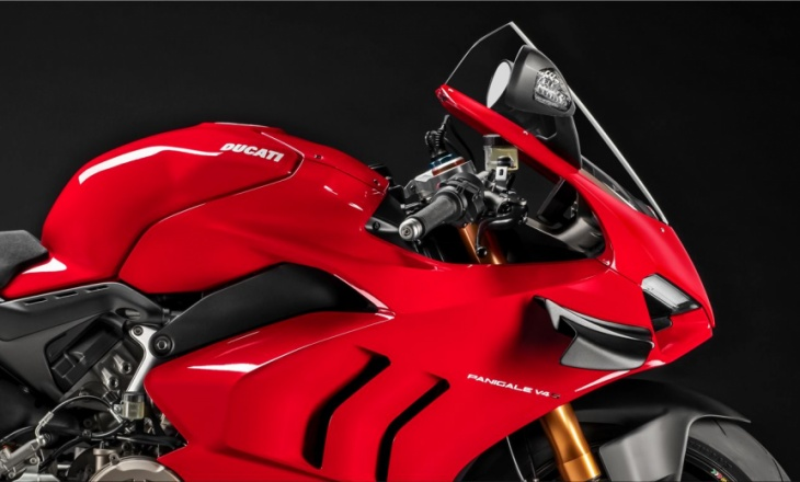 Ducati Panigale V4 motorcycle