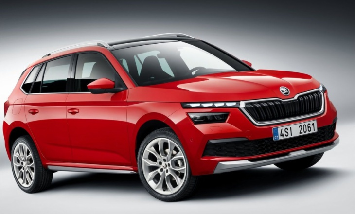 The new city SUV: SKODA KAMIQ